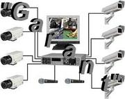 Установка систем видеонаблюдения И.П.